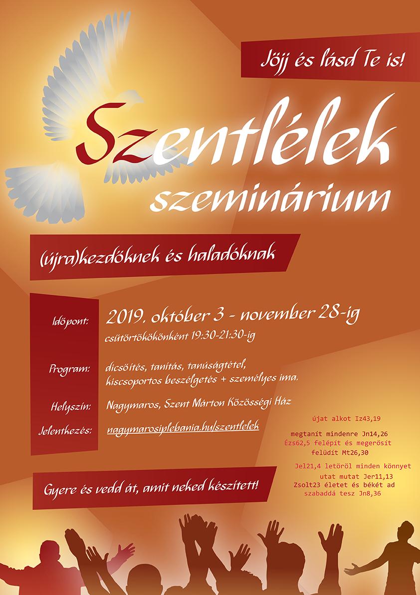 szeminárium plakát
